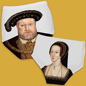 Funny Underwear Gift Tudor Love Pants - underwear & socks