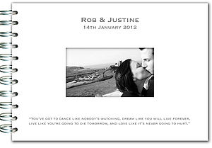 Personalised Guest Book - stationery