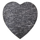 Heart Marble Board Personalised