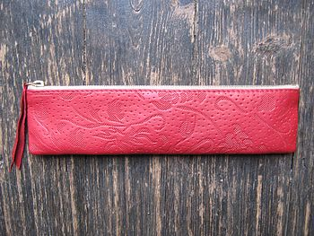 Ruby Leather Case