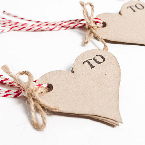 recycled heart shaped gift tags by sophia victoria joy ...