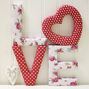 Heart Motif - soft furnishings & accessories