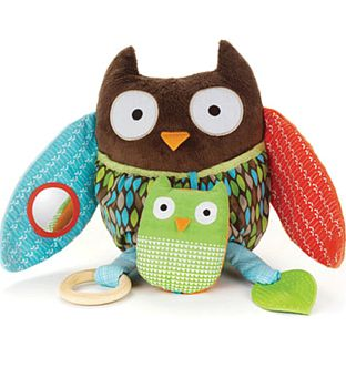 (Large Owl) Hug and Hide Owl Activity Toy
