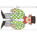 Mr Benn Clown Childrens Wall Sticker