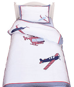 Aeroplanes Duvet Set - soft furnishings & accessories