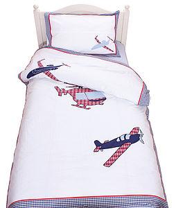Aeroplanes Duvet Set - soft furnishings & accessories