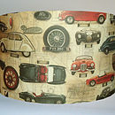 Vintage Cars Lampshade