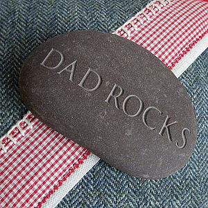 Personalised Dad's Gift Paperweight - gifts for fathers