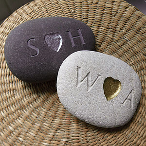 I Heart You Pebble - decorative accessories