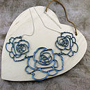 Rose Garland Necklace