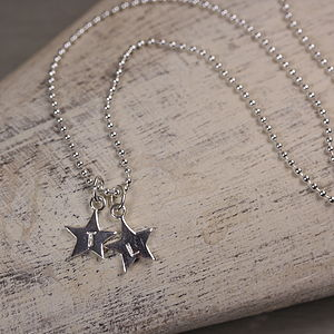 Personalised Tiny Star Charm Necklace - necklaces & pendants