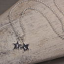 Personalised Tiny Star Charm Necklace