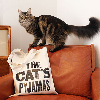 'The Cat's Pyjamas' Tote Bag