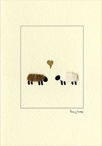 Animals In Love Cards