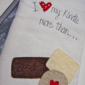 'I Love My Kindle More Than…' Case - laptop bags & cases