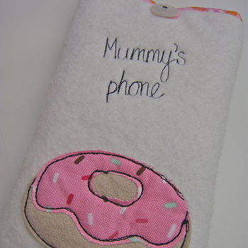 Personalised Doughnut Phone Case