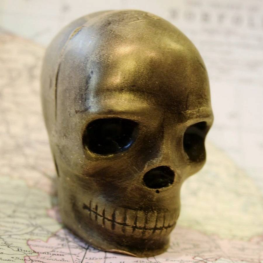 Handmade Chocolate Skull