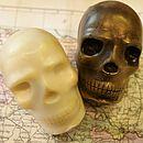 Handmade Chocolate Skull
