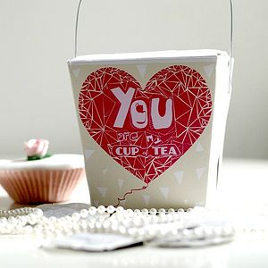 'You Are My Cup Of Tea' Gift Box For Her - food & drink gifts