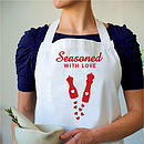 'Seasoned With Love' Apron