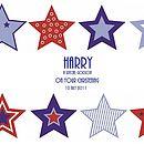 Christening Stars Print