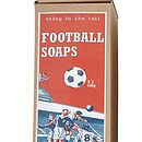Football And Rugby Shaped Soap