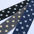 Black Blue Dotty