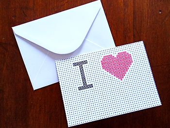 Write Your Own 'I Heart…' Card