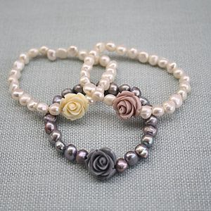Rose Corsage Bracelet - women's jewellery