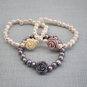 Rose Corsage Bracelet - women's jewellery