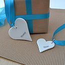 Mother's Day Porcelain Gift Tag