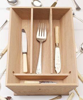 Cutlery tray - straight sided