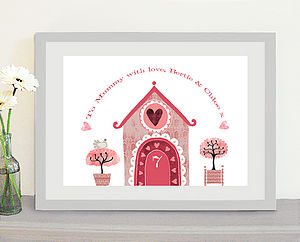 Personalised Home Print - new home gifts