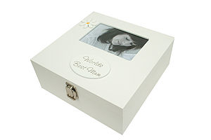 Keepsake Box With Photo Frame - keepsakes