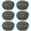 Personalised Date Stone