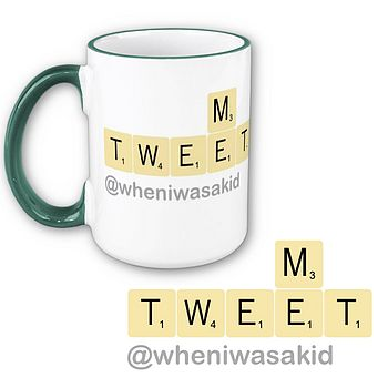 Personalised Tweet Me Mug