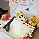Child's Wedding Activity Box