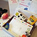 Child's Wedding Activity Box