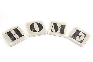 'Home' Coasters
