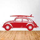Classic Car Vinyl Wall Sticker Side View