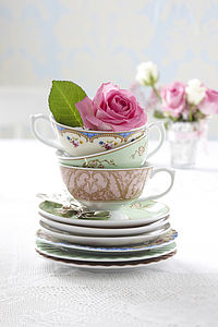 Regency Tea Collection - pastel palette