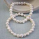 Classic Ivory Freshwater Pearl Bracelet