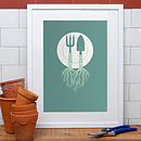 From Dirt To Dinner Print