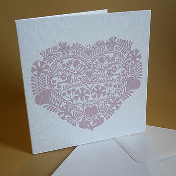 Heart Love Token Card