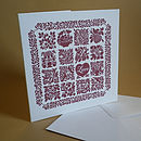 Folk Art Inspired Heart Card   11 Designs