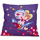 Flamingo Fairy Cushion