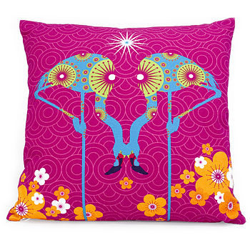 Flamingoes Cushion
