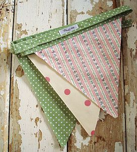 Spring Blossom Bunting - children's decorative accessories