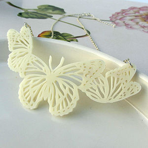 Like Lace Butterfly Necklace