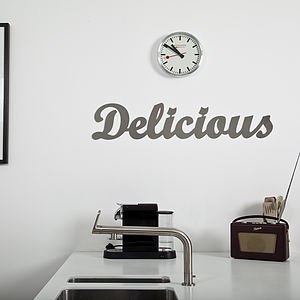 'Delicious' Metal Sign - home accessories